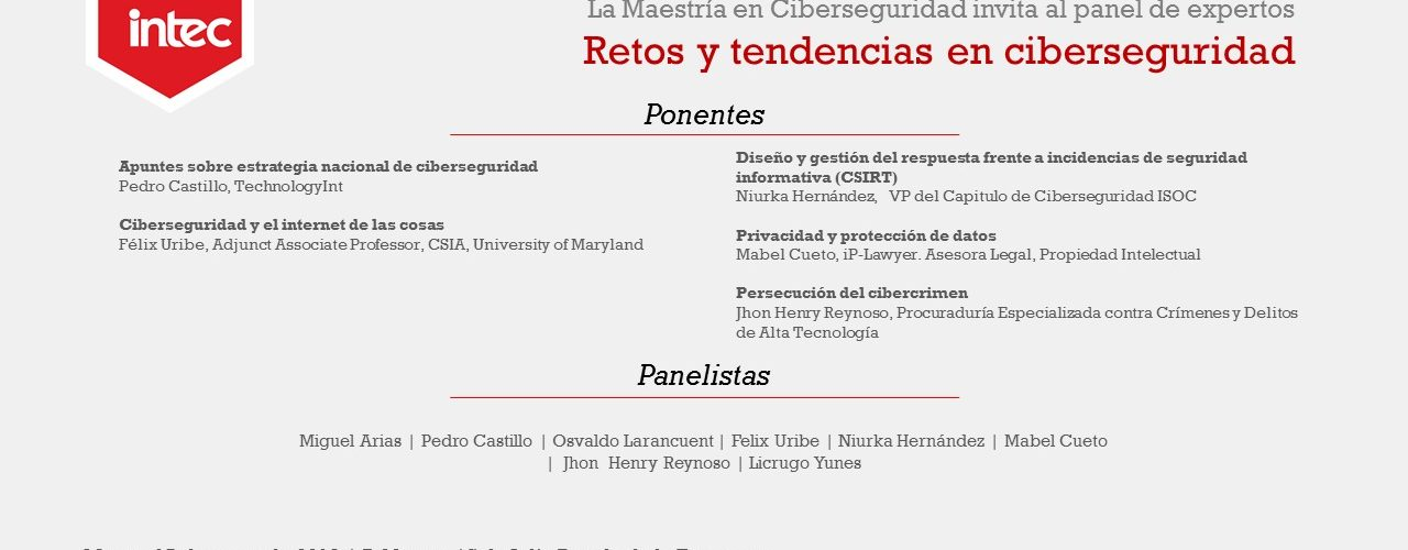 Ciberseguridad, retos y tendencias.
